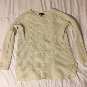 Ann Taylor Xs Cable Knit Sweater